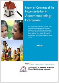 Accommodating Everyone Report of Outcomes 2011