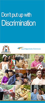 Discrimination Brochure - Final Icon