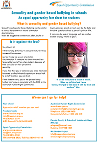LGBTI Students Fact Sheet-Cover