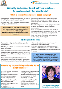 LGBTI Teachers Fact Sheet-Cover