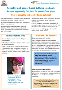 LGBTI Parents Fact Sheet-Cover